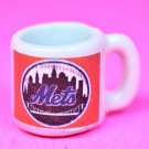 "Dollhouse miniature size 1/12"" scale replica sports Mets coffee mug"