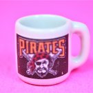 "Dollhouse miniature size 1/12"" scale replica Pirates sports  coffee mug"