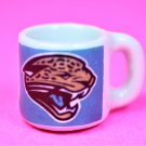 "Dollhouse miniature size 1/12"" scale replica Jaguars sports coffee mug"