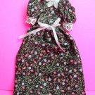 Dollhouse miniature handmade cotton doll's dress  XG99