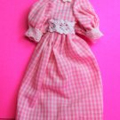 Dollhouse miniature handmade cotton doll's dress  XG100