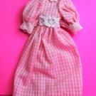 Dollhouse miniature handmade cotton doll's dress  XG100