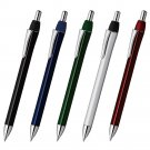 Zebra BA92 Black, Blue, Green, Silver and Red 0.5mm Mini Ballpoint Pens (5pcs) - Assorted #10120