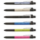 Tombow MONO Graph Multi 2+1 CPA-161 0.5mm Multifunctional Pens (Pack of 6) - Assorted #14597