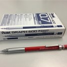 Pentel GRAPH 600 PG607 0.7mm Mechanical Drafting Pencil (12pcs) - Red #12183