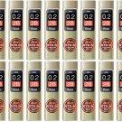 Pentel Ain Stein C272W-2B 0.2mm Refill Leads (Pack of 20) #12691
