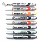 Pentel MAXIFLO MWL5S Assorted Colors Fine Bullet Point Whiteboard Markers (8pcs) - Assorted #11382