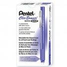 Pentel CLIC ZE22 Rectractable Eraser Pen (12pcs) - Violet #8586