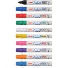 Uni PX-20 Medium Point 2.2-2.8mm Paint Markers (Pack of 10) - Assorted #15334