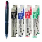 Pilot Feed GP4 BPKG-35R 0.7mm 4-Color Ballpoint Pen + BKRF-6F Refills (8pcs) - Black #15471