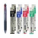 Pilot Feed GP4 BPKG-35R 0.7mm 4-Color Ballpoint Pen + BKRF-6F Refills (8pcs) - Transparent Black #15