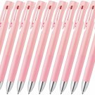 Zebra bLen 3C B3AS88 0.5mm 3 Colors Ballpoint Pens (Pack of 10) - Pink #15536