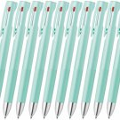 Zebra bLen 3C B3AS88 0.5mm 3 Colors Ballpoint Pens (Pack of 10) - Blue Green #15537