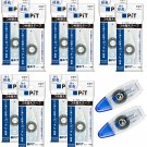Tombow PiT POWER C PR-CP 8.4mm x 7m Glue Tape Cartridges (10x) + PN-CP Rollers (2x) #15526