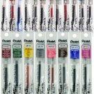 Pentel EnerGel LR7 0.7mm Metal Tip Liquid Gel Pen Refills (Pack of 20) - Assorted #16012