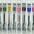 Pentel EnerGel LR7 0.7mm Metal Tip Liquid Gel Pen Refills (Pack of 8) - Assorted #16011