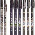 Tombow Fudenosuke Dual 2X, Hard 3X, Soft 3X Tip Calligraphy Pens #16120