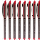 Zebra Sonicball NT7 RBBZ1 0.7mm Needle Tip Liquid Ink Rollerball Pens (Pack of 10) - Red Ink #15072