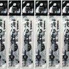 Zebra UK-0.7 0.7mm Refills (Pack of 10) - Black Ink #15863
