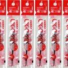 Zebra UK-0.7 0.7mm Refills (Pack of 10) - Red Ink #15865