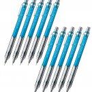 Pentel PG-METAL 350 PG313 0.3mm Mechanical Pencils (Pack of 10) - Transparent SkyBlue #16353