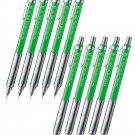 Pentel PG-METAL 350 PG313 0.3mm Mechanical Pencils (Pack of 10) - Green #16351