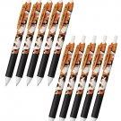Pentel EnerGel-S Limited Cat Series BLN123 0.3mm Retractable Gel Pens (Pack of 10) - Japanese Bobtai