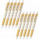 Pentel EnerGel-S Limited Cat Series BLN125 0.5mm Retractable Gel Pens (Pack of 10) - Scottish Fold/B