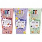 Uni one Limited Fruit tea color 0.38mm 12-Color Ballpoint Pen Set - Assorted #16512