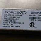 Dell / FORCE10 10Gb 10G-XFP-SR GP-XFP-1S MFGR4 FTLX8511D3-FC Transceiver qty