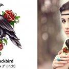 3D Black Bird