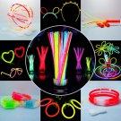 50 Pcs Glow Sticks Party Fluorescent Neon