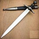 "15.5"" NARNIA LION'S HEAD MEDIEVAL ORNATE KNIGHT FANTASY DAGGER Sword KNIFE LARP"