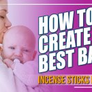 How to make the best fragrance #babypowderincensesticks Ever in 2020