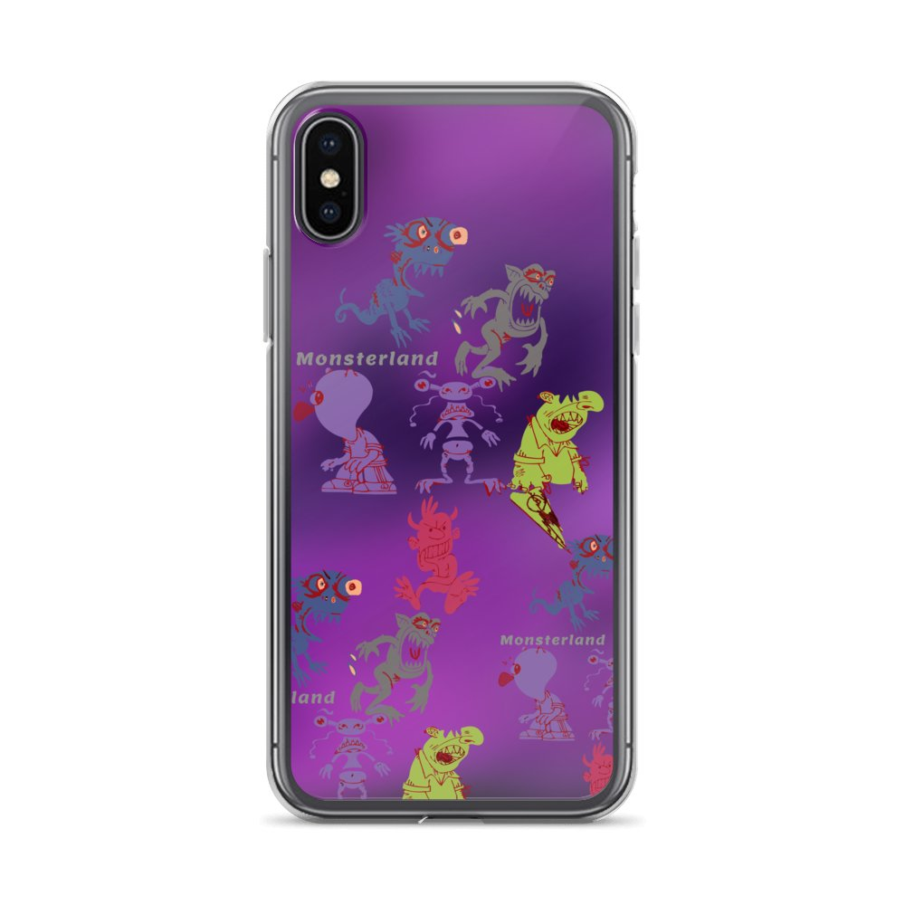 Funny Monsters iPhone Cases for all models