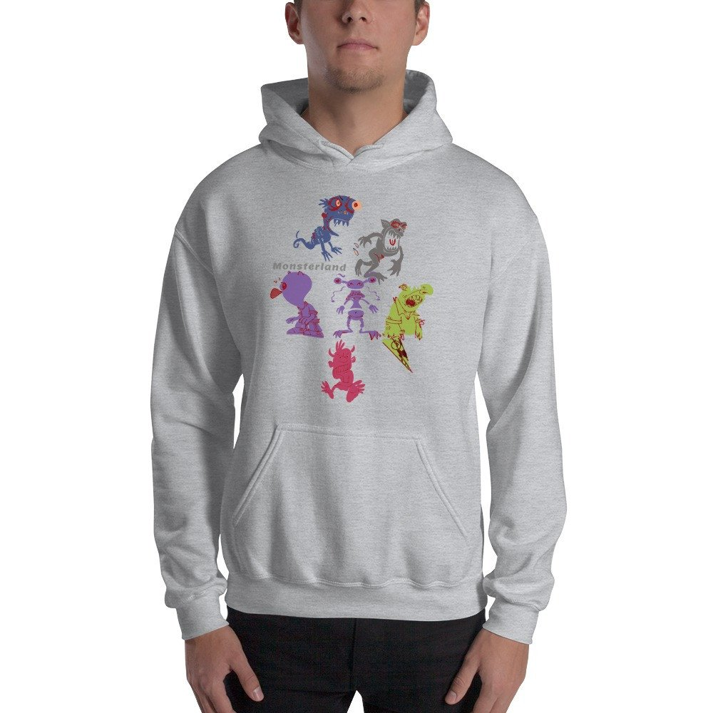 Funny Monsters Hoodie Gildan new collection