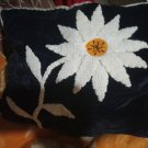 Hand-embroidered pillows Wild Mountain Flower Antique