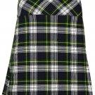 """Women's Knee Length Dress Skirt 38"""" Waist Leather Straps Kilt Dress Gordon Mini Billie Kilt Skirt"""