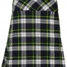 """Women's Knee Length Dress Skirt 48"""" Waist Leather Straps Kilt Dress Gordon Mini Billie Kilt Skirt"""