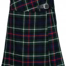 "Leather Straps Kilt Ladies Knee Length Dress Skirt 45"" Waist Mackenzie Mini Billie Kilt Skirt"