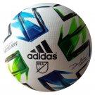 ADIDAS 2020 MLS NATIVO XXV Pro Match Ball - White-Green-Blue Size 5