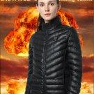 Women's Slim-Fit Heated Jacket - Black (Size Large)