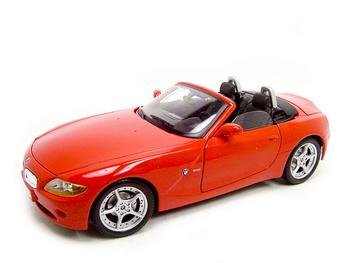 BMW Z4 RED 1:18 DIECAST MODEL