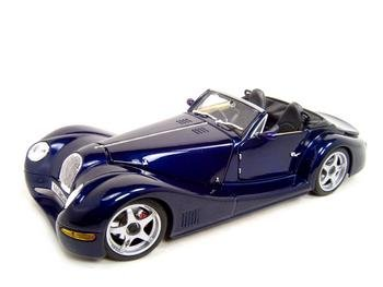 MORGAN AERO 8 BLUE 1:18 DIECAST MODEL