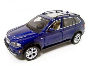 BMW X5 BLUE 4.8i 1:18 DIECAST MODEL 2006 2007 2008 BURAGO