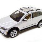 BMW X5 SILVER 1:18 DIECAST MODEL 2006 2007 2008 BURAGO