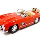1957 MERCEDES 300SL TOURING RED CONVERTIBLE 1:18 DIECAST MODEL