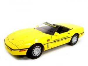 1986 CHEVROLET CORVETTE INDY 500 PACE CAR 1:18 MODEL