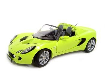 LOTUS ELISE GREEN 1:18 DIECAST MODEL