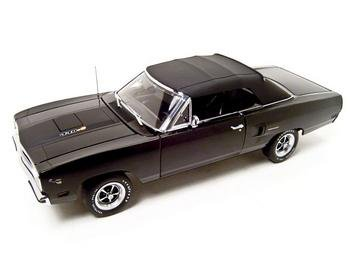 1970 PLYMOUTH ROADRUNNER 440+6 BLACK 1:18 GMP 1 OF 1250 MODEL